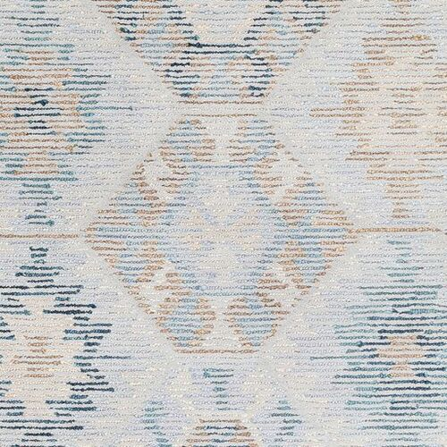 Morse Pale Blue Hand Tufted Rug