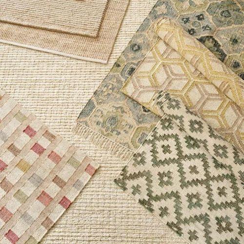 Mosaic Woven Jute Rug