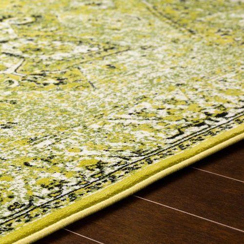 Mumbai Grass Green Flat Weave Rug