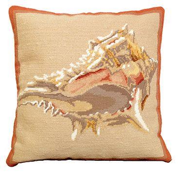Murex Shell Pillow