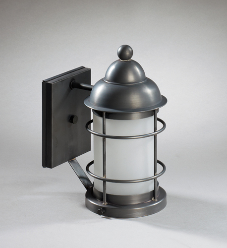 Nautical Wall Mount Light Fixture with Frosted Glass
