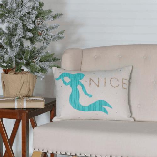 Nice Mermaid Pillow