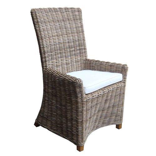 Nico Arm Dining Chair - Kubu