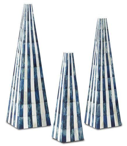 Ossian Blue Obelisk Set <font color=a8bb35>NEW</font>