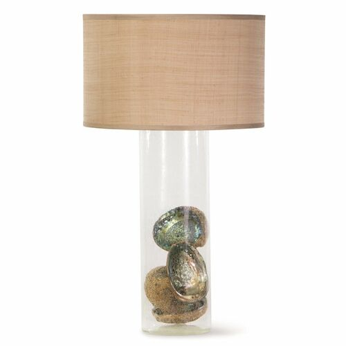 Palmetto Glass Table Lamp