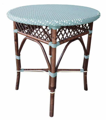 Paris Bistro Table in Blue  *Low Stock