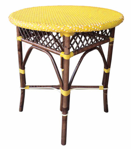 Paris Bistro Table in Yellow