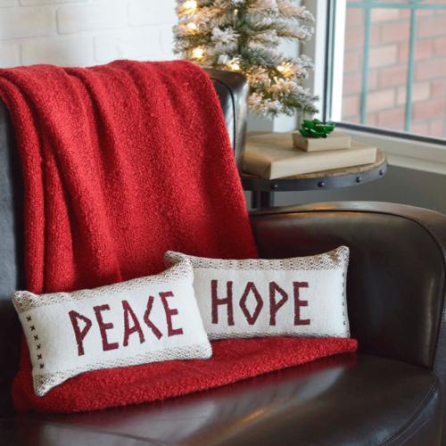Peace & Hope Pillows - Set of 2