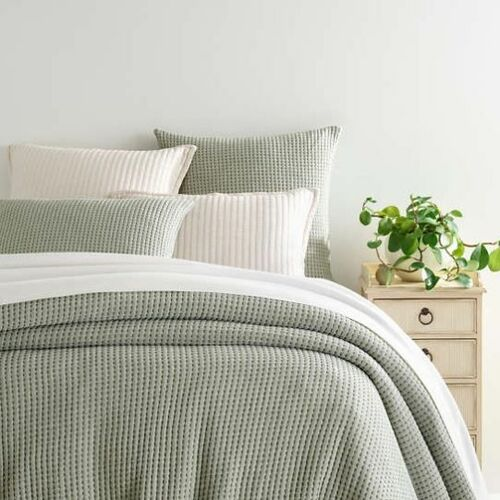 Pick Stitch Evergreen Matelasse Coverlet *NEW