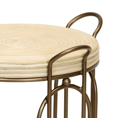 Plaza Side Table in Natural <font color=a8bb35>NEW</font>