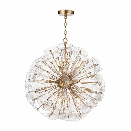 Poppy Glass Chandelier in Two Sizes