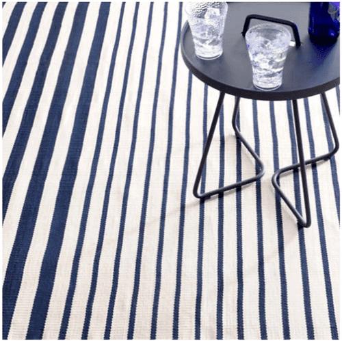 Port Stripe Navy Indoor/Outdoor Rug