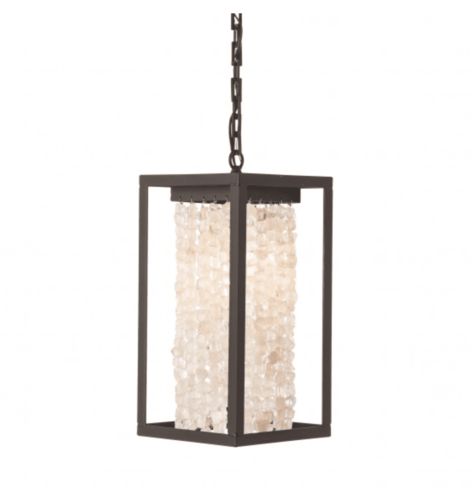 Quartz Square Pendant Light