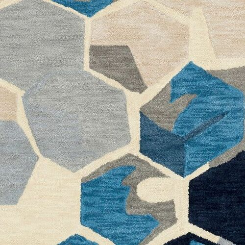 Rivera Ink Hand Tufted Rug
