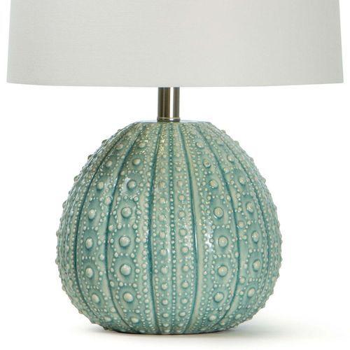Sanibel Ceramic Sea Foam Table Lamp