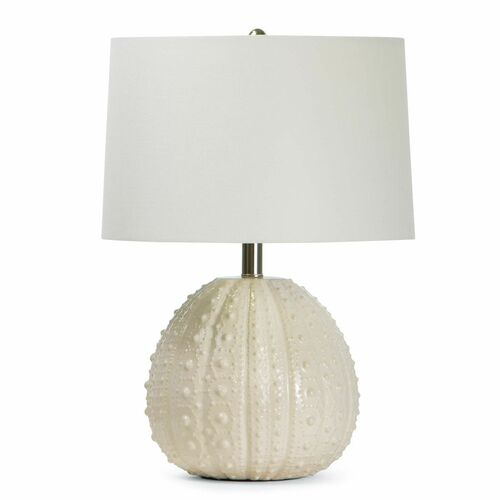 Sanibel Ceramic White Table Lamp