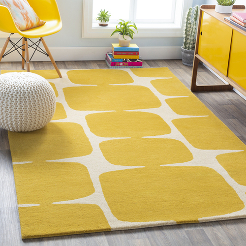 Scion Mustard Hand Tufted Rug *Backorder