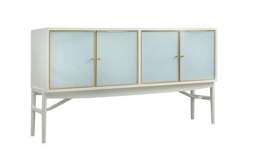 Seaglass Four Door Sideboard <font color=a8bb35>NEW</font>