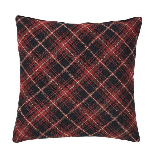 Seasons Greeting Cardinal Pillow - Set of 2