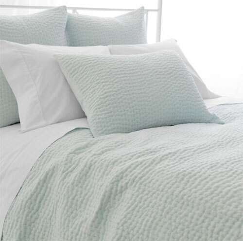 Seychelles Quilt in Sky Blue 20% OFF