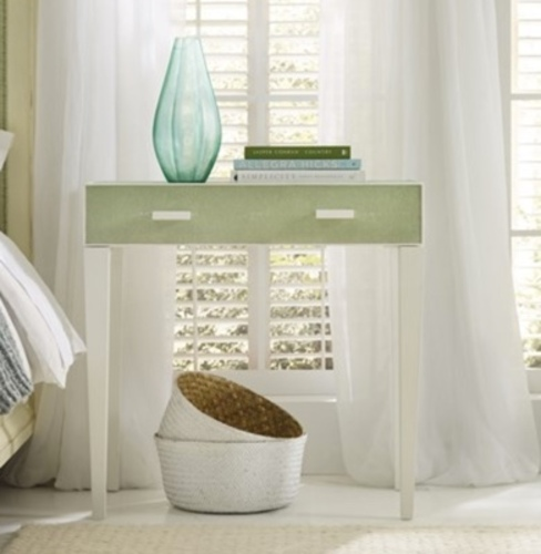 Shagreen Bedside Table Green