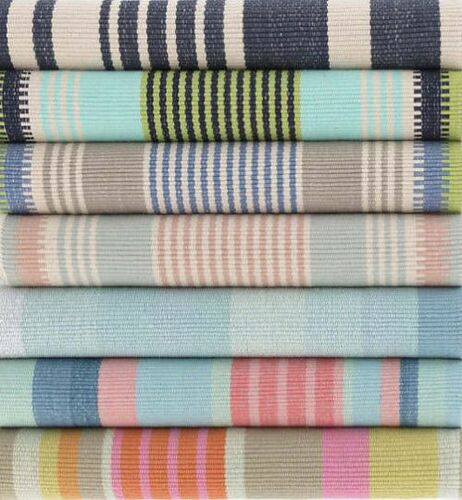 Shore Stripe Cotton Woven Rug