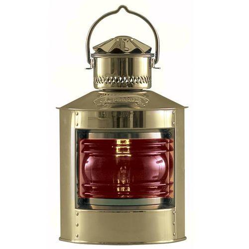 Nautical Brass Side Light, Red