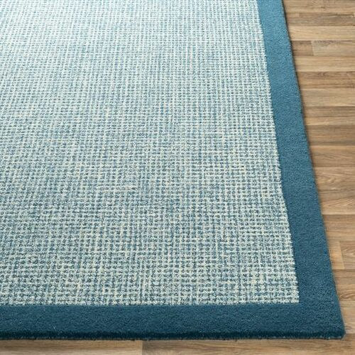 Siena Bright Blue Hand Tufted Rug