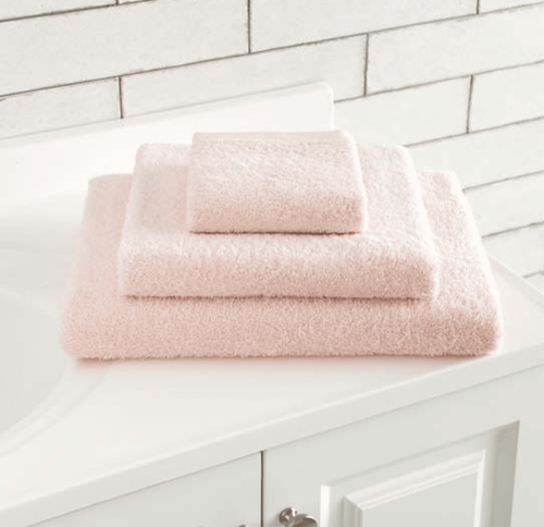 Signature Towel - Slipper Pink