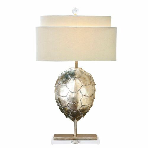 Tortoise Shell Table Lamp