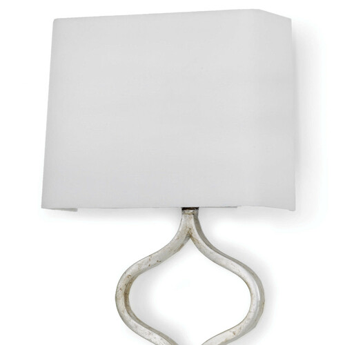 Sinuous Sconce - Silver Leaf