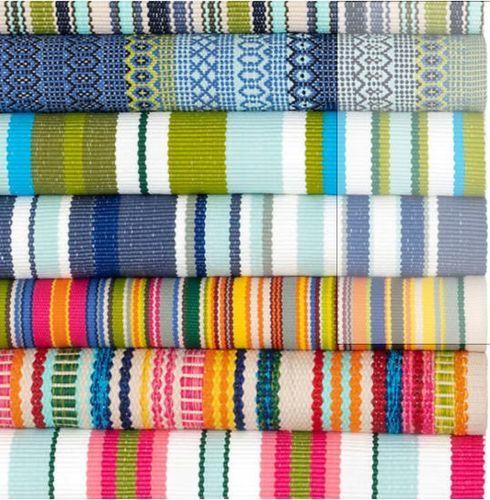 Skyler Stripe Indoor/Outdoor Rug<font color=a8bb35> NEW</font>