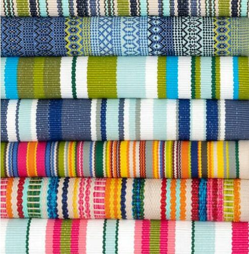 Skyler Stripe Indoor/Outdoor Rug<font color=a8bb35> NEW</font>