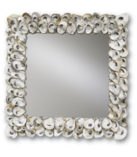 Square Oyster Mirror