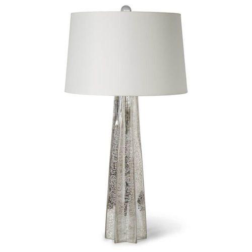 Star Antique Mercury Glass Table Lamp *Backorder
