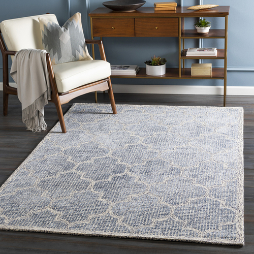 Starlit Denim Hand Tufted Rug