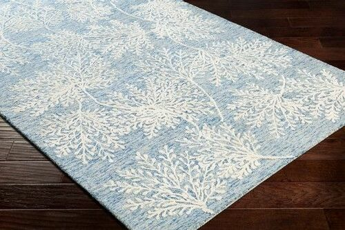 Starlit Ice Blue Hand Tufted Rug