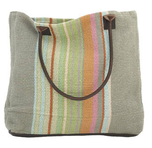 Stone Soup Woven Cotton Tote Bag 20% OFF