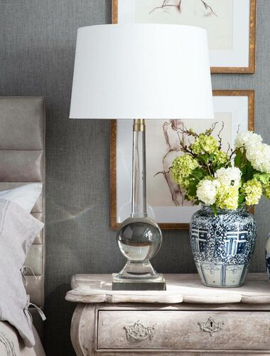 Stowe Crystal Table Lamp