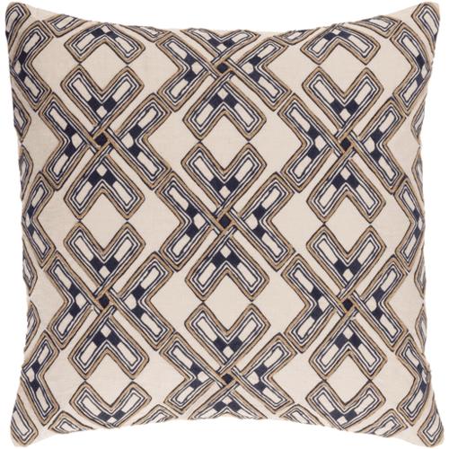 Subira Cotton/Linen Pillow <font color=a8bb35> NEW</font>