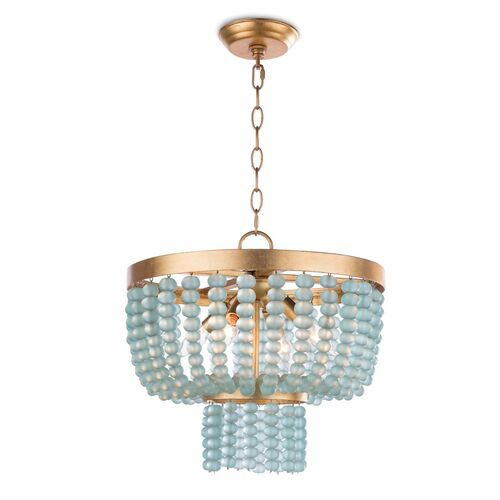 Summer Glass Bead Chandelier Small