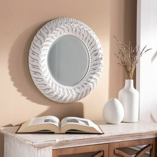 Tanu Mirror - White