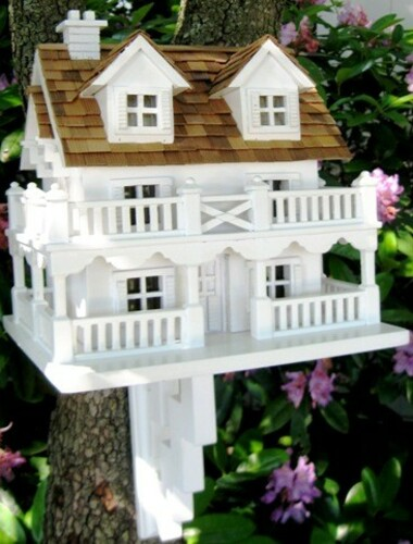 The Cape Cod Cottage Bird Feeder *Low Stock