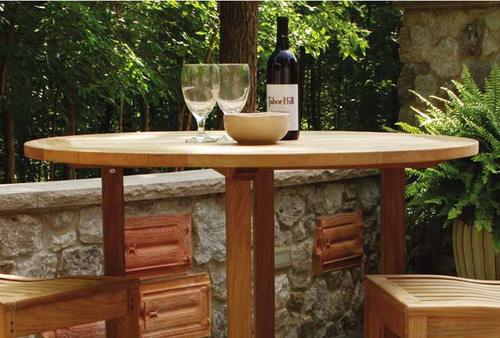Oxford Round Bar Table in Two Sizes