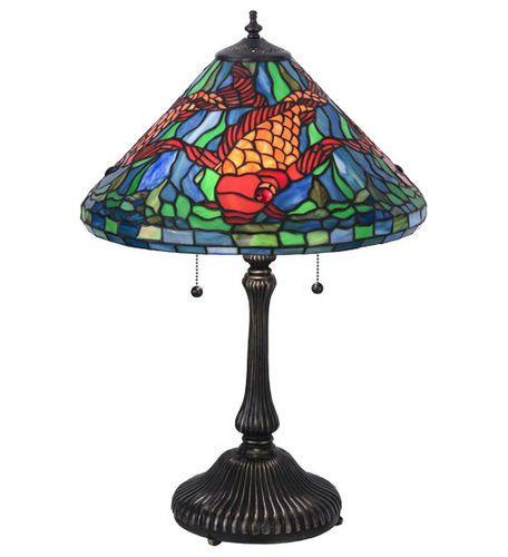 Tiffany Koi Table Lamp
