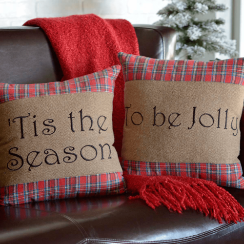 Tis the Season Pillow Set of 2