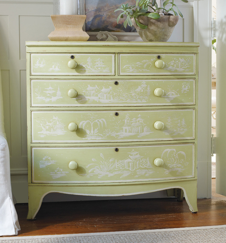 Topsail Large Bowfront  Chest