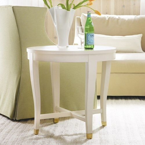 Transitions Round End Table