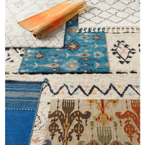 Trenza Cotton Rug<font color=a8bb35> NEW</font>