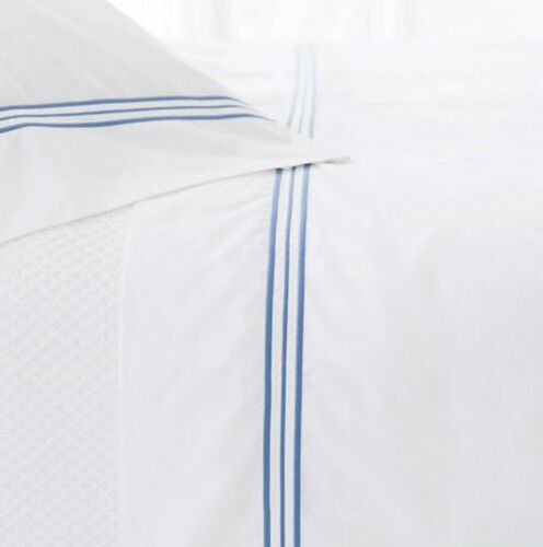 Trio French Blue Pillow Cases (Pair)